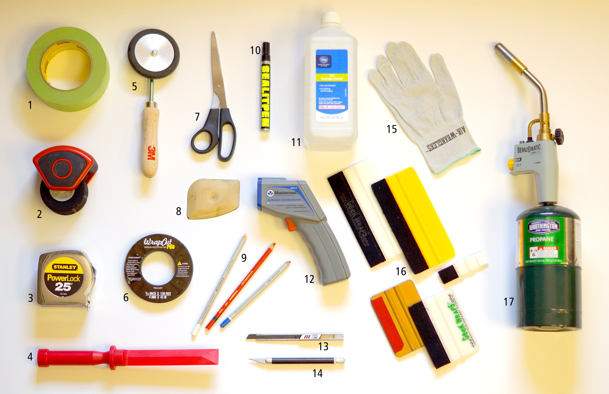 Wrap Installation Tools